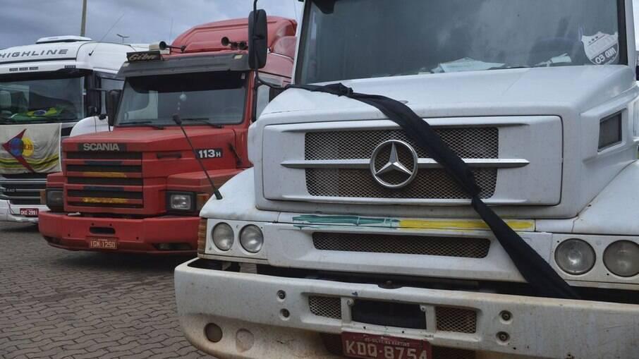 Entidades envolvidas com caminhoneiros disseram não apoiar manifestações