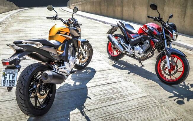 Honda CB Twister: Eis as novas cores e grafismos para as versões CBS (de entrada) e ABS (topo)