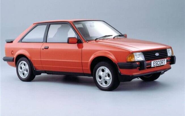 Ford Escort XR-3, lançado em 1984 como a versão esportiva do compacto; motor 1.6 CHT não agradava