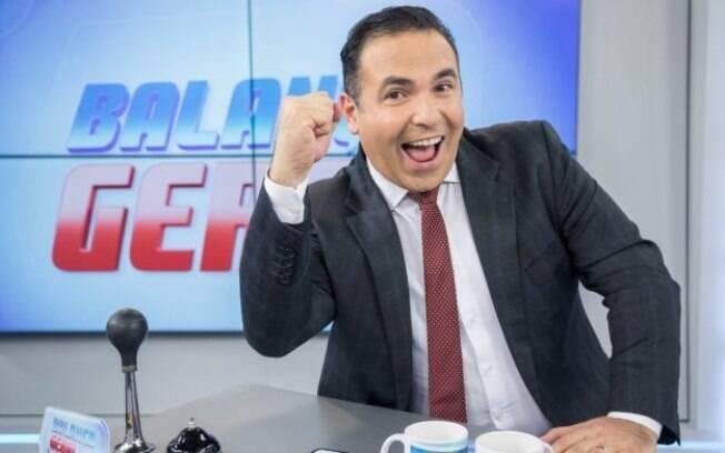 O apresentador Reinaldo Gottino é torcedor do Palmeiras