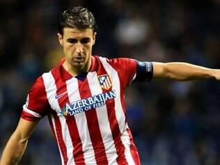 Ausência do capitão do Atlético de Madrid foi minimizada pelo técnico Simeone