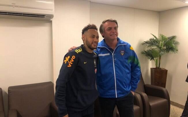 Neymar e Bolsonaro
