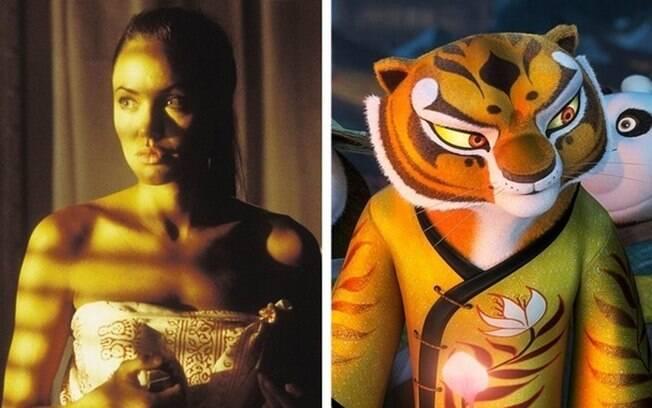 Angelina Jolie – Tigresa (Kung Fu Panda)