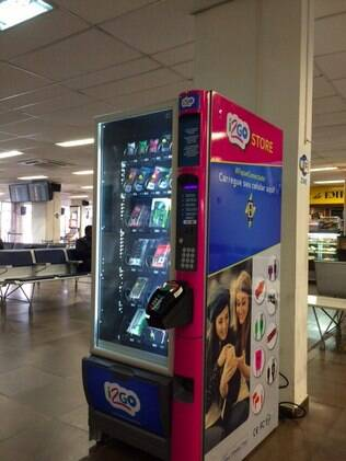 I2GO aposta no modelo de vending machines