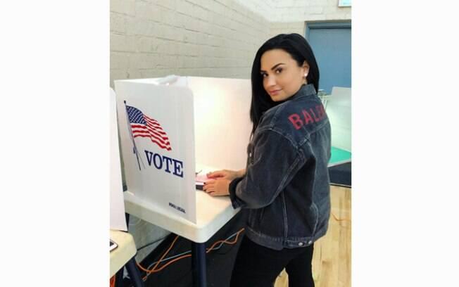 Famosos nas eleições nos EUA