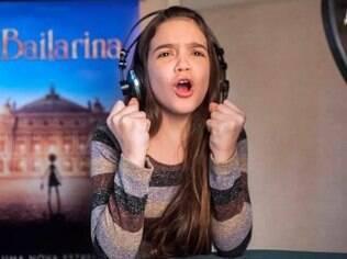 Mel Maia dá voz a Felicie, personagem principal