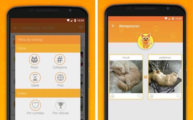 Usuário pode selecionar uma das 17 hashtags disponíveis no app e votar em suas fotos favoritas