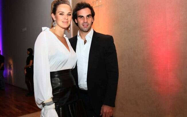 Leticia Birkheuer e o marido, Alexandre Furmanovich