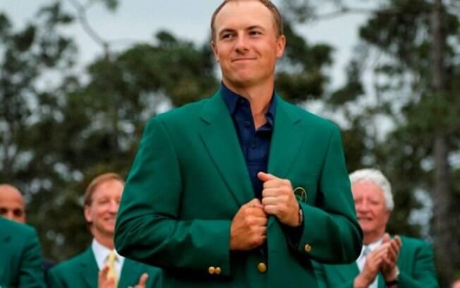 A jaqueta verde é uma das tradições do Masters de Augusta