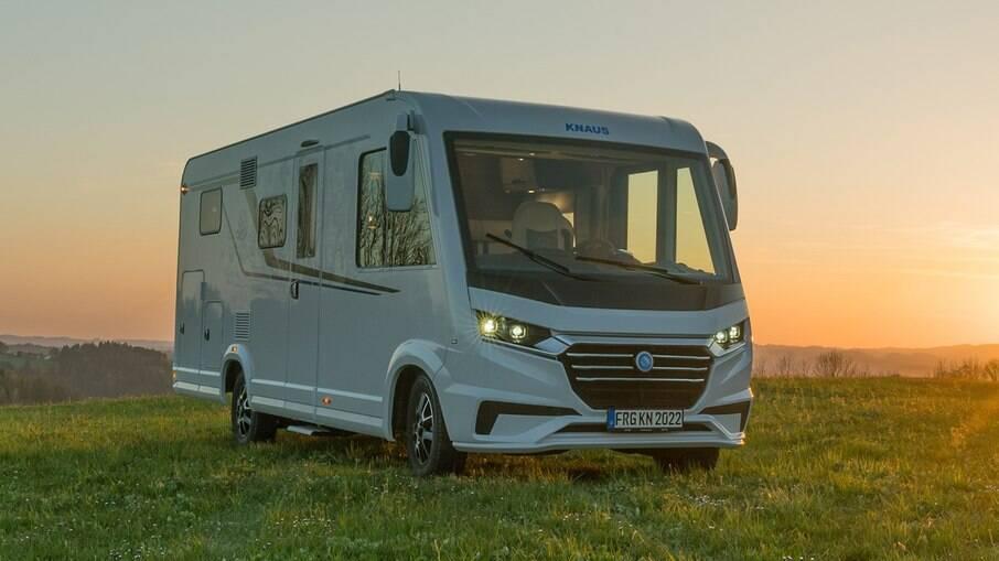 Motorhome Knaus Van I é fabricada pela empresa alemã com uma série de detalhes para uma viagem bem confortável