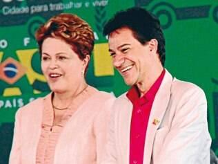 Projetos. Presidente Dilma Rousseff esteve em Contagem na última segunda-feira (7) e se reuniu com Carlin Moura para reforçar parcerias