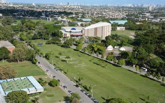 Campus da UFPE (Universidade Federal de Pernambuco) em Recife, onde carta com ameaça a professores foi deixada