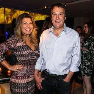 Emílio Surita e sua esposa, Anne Luyet
