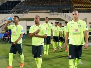 Seleção olímpica passou por mais um desafio em Doha, no Catar