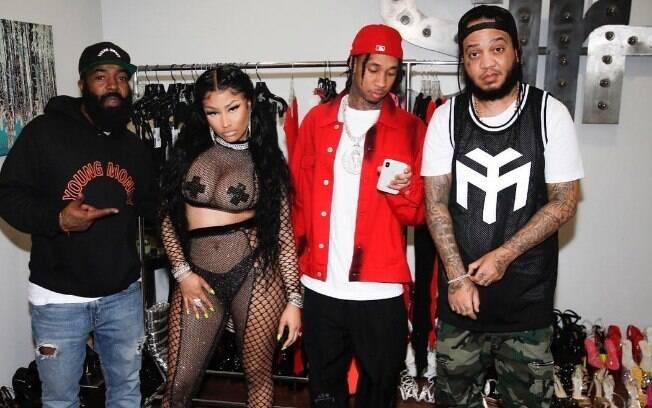 Nicki Minaj e convidados do seu novo clipe