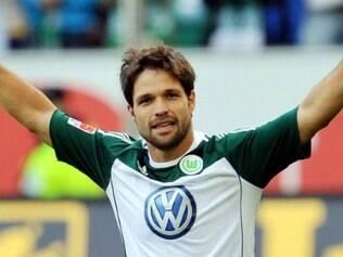 Diego conquistou uma Liga Europa com a camisa do Atlético de Madrid