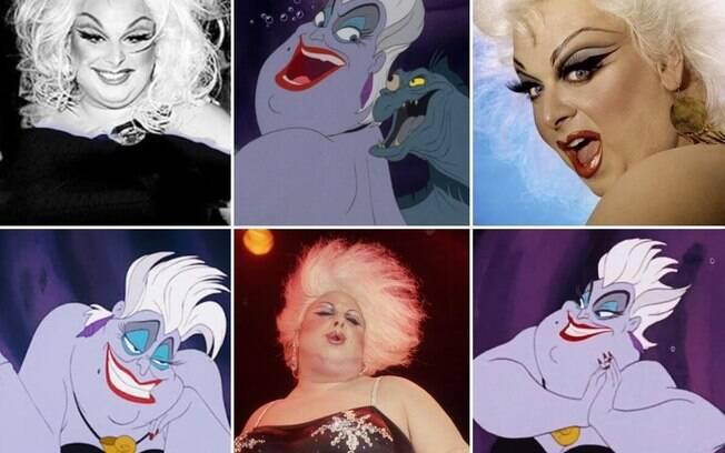 Úrsula, personagem da Disney inspirada na drag queen Divine