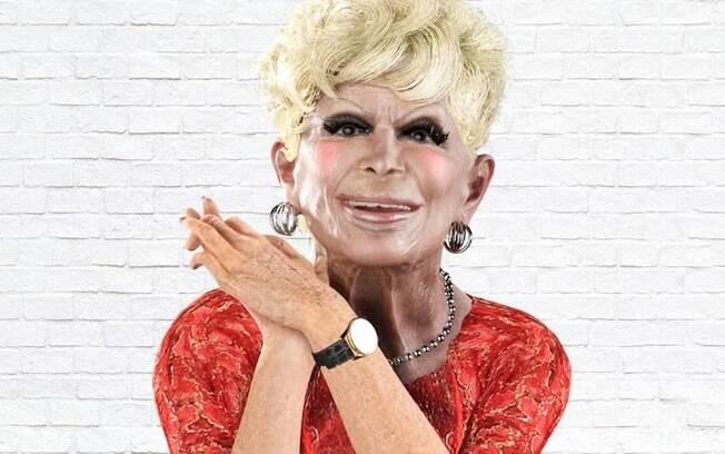 Holograma da atriz Dercy Gonçalves foi criado pela rede de fast-food Popeyes em nova campanha publicitária