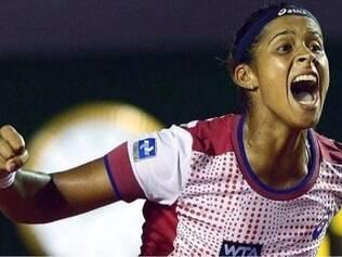 Teliana Pereira chegou á 99ª posição no ranking da WTA