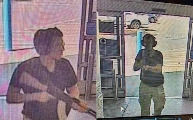 Imagens do tiroteio em El Paso