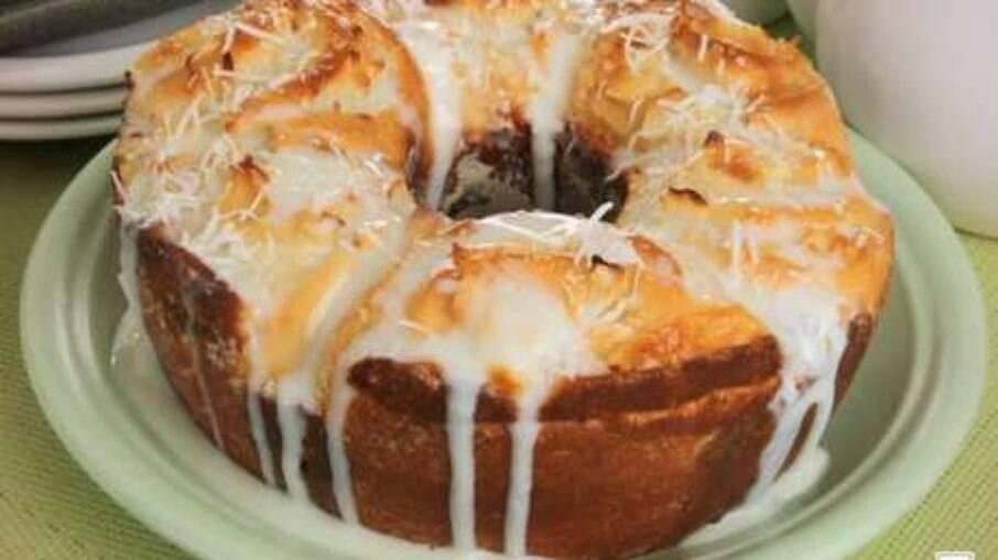 Rosca de fatia húngara para servir com o café da tarde!