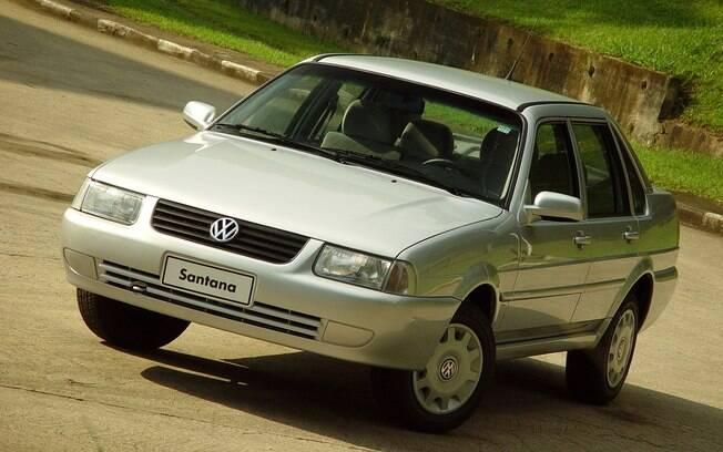 A última face do Volkswagen Santana brasileiro. O primeiro VW de luxo deixou de ser fabricado em 2005