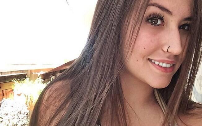A estudante de Direito Maria Luiza Perez Perassolo: ela passou a noite inalando gás com amigos