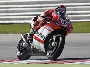 Piloto da Ducati ficou em primeiro no segundo treino livre dessa sexta
