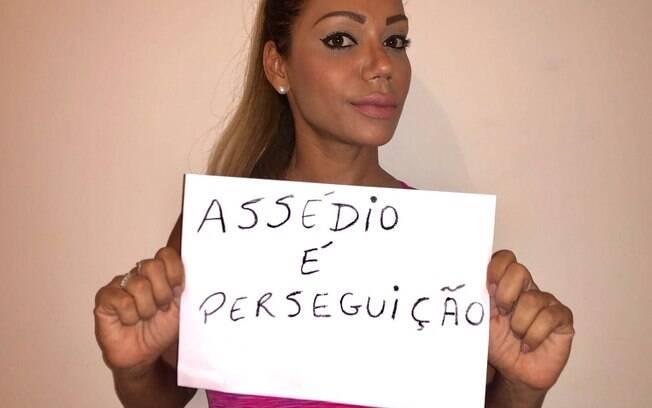 Ana Paula Evangelista diz o que acha sobre o assédio sexual