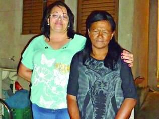 Elma (à dir.) encontrou a filha Giovana Moreira e o filho Jeferson com a ajuda do 'Por onde anda'
