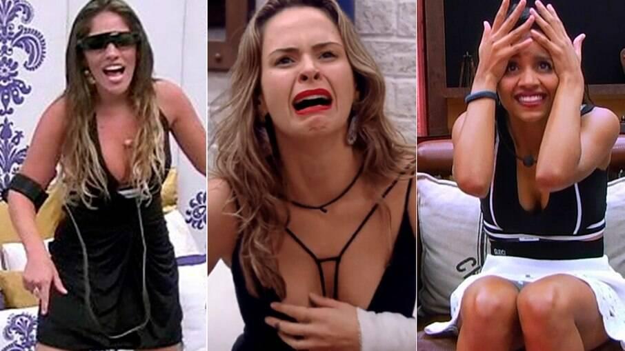 Anamara, Ana Paula Renault e Gleici Damasceno foram as únicas a ficarem em um quarto secreto