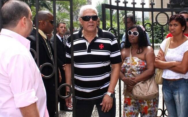 O presidente do Vasco Roberto Dinamite: