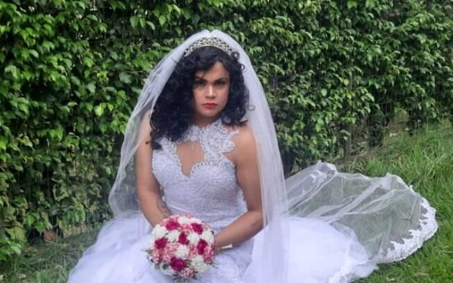 MC Maylon vestido para o casamento solo