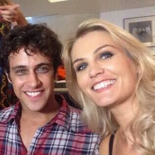 Mônica Martin com Ronny Kriwat