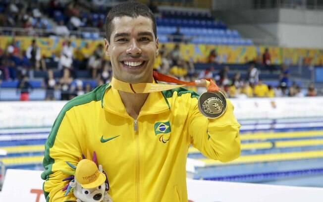 O nadador Daniel Dias foi o maior destaque brasileiro em Toronto, com oito medalhas de ouro