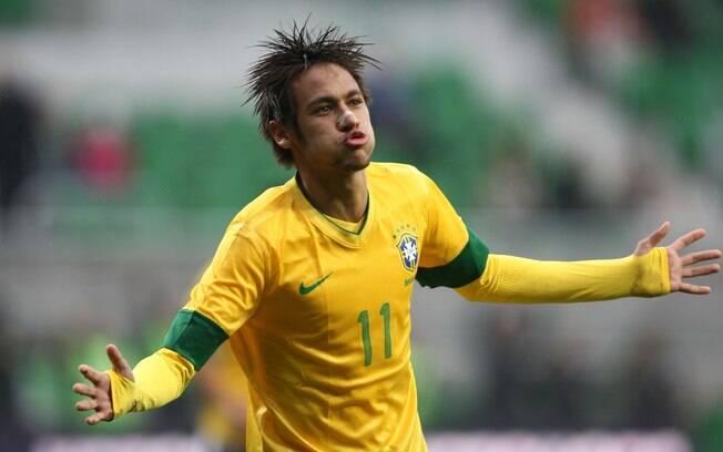 Neymar pela seleção