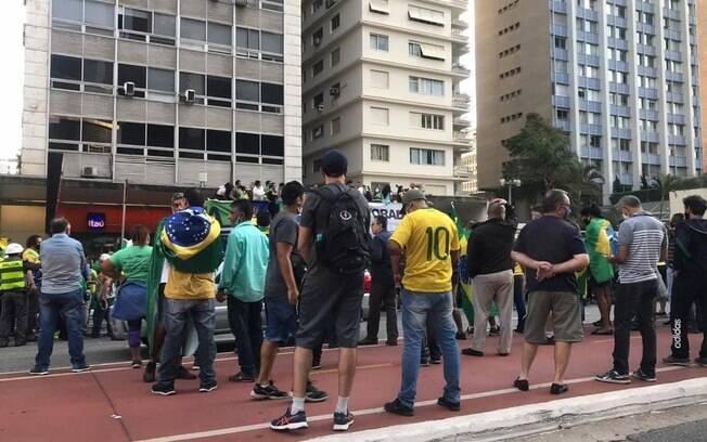 A Justiça Federal determinou que grupos favoráveis e contrários a Bolsonaro revezem a realização de atos na Paulista aos domingos