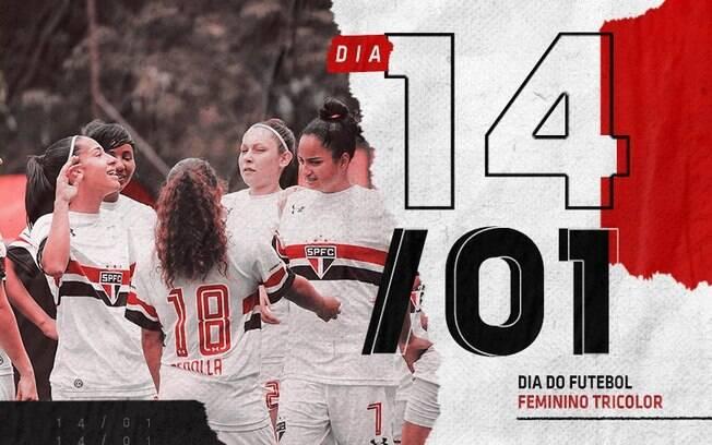 São Paulo anuncia volta do time de futebol feminino
