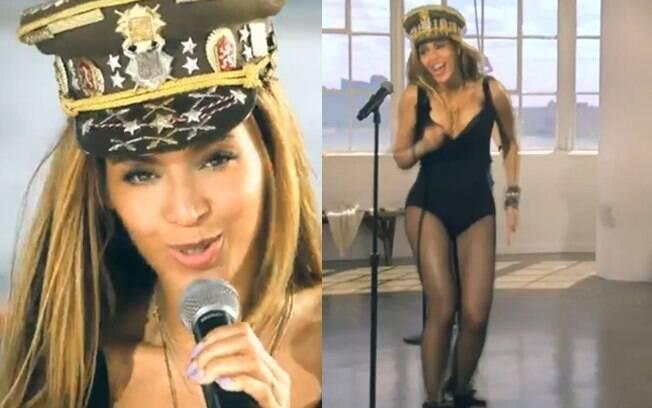 Beyoncé apareceu sensual em seu novo clipe