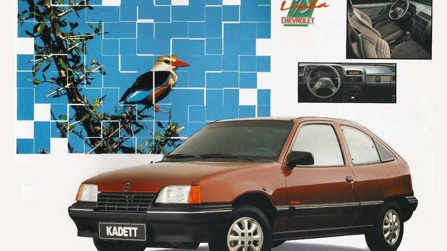 Chevrolet Kadett GLS já vinha com injeção eletrônica monoponto, o que era incomum entre os nacionais do início dos anos 90