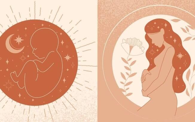 Lua e gravidez: qual é a relação?