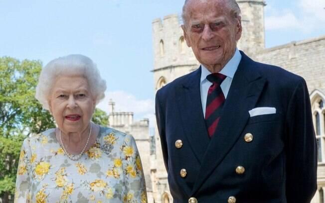 Rainha Elizabeth II e Príncipe Philip
