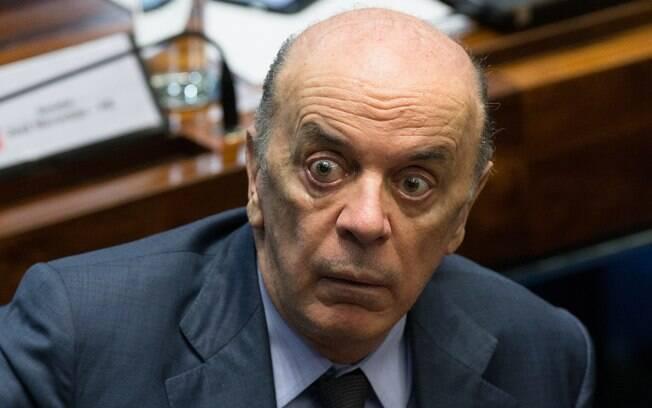 Senador José Serra (PSDB-SP) é alvo de investigação sobre caixa dois