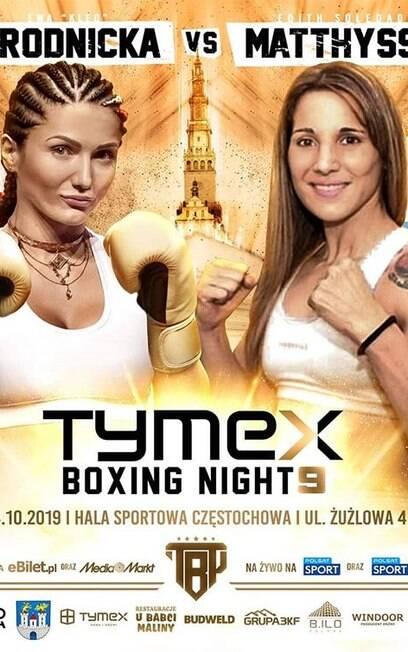 Boxeadora polonesa Ewa Brodnicka