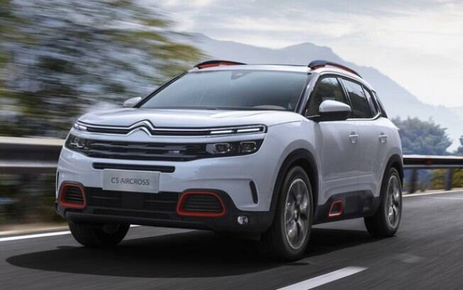 O Citroën C5 Aircross é o novo SUV médio da marca francesa para brigar com Jeep Compass e companhia