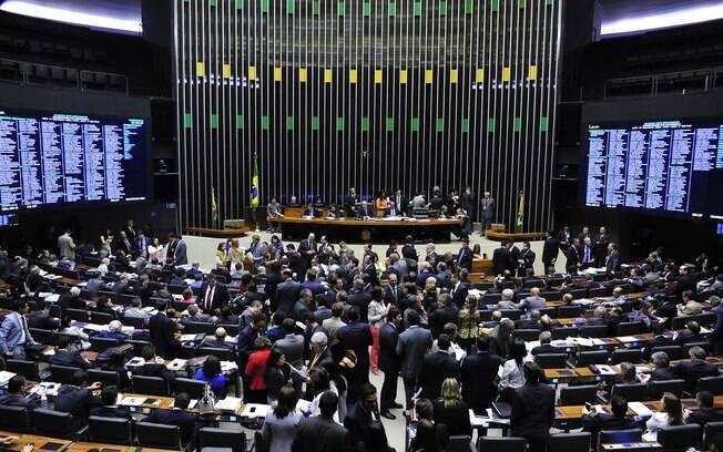 Sessão destinada a votar a Medida Provisória 668/15