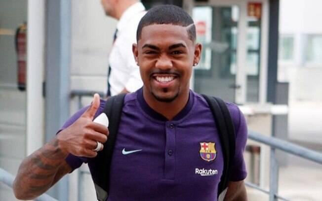 De malas prontas, Malcom pediu para sair do Barcelona na próxima janela de transferências