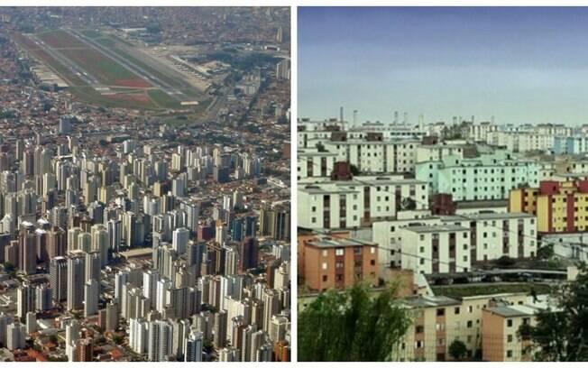 Em Moema%2C à esquerda%2C vive-se em média até os 80 anos. Enquanto isso%2C na Cidade Tiradentes%2C à direita%2C vive-se até os 57.