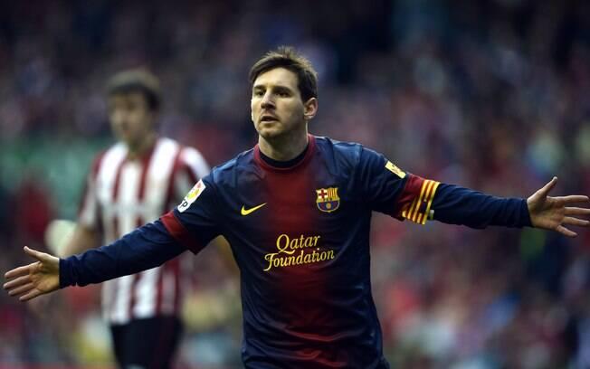 5º) Messi - jogador do Barcelona