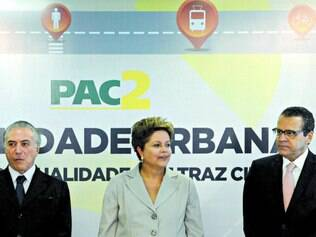 Pressão.  A presidente Dilma Rousseff tem em postos importantes Michel Temer e Eduardo Alves